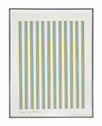 untitled [chicago eight], from conspiracy: the artist as witness (s. 15) by bridget riley